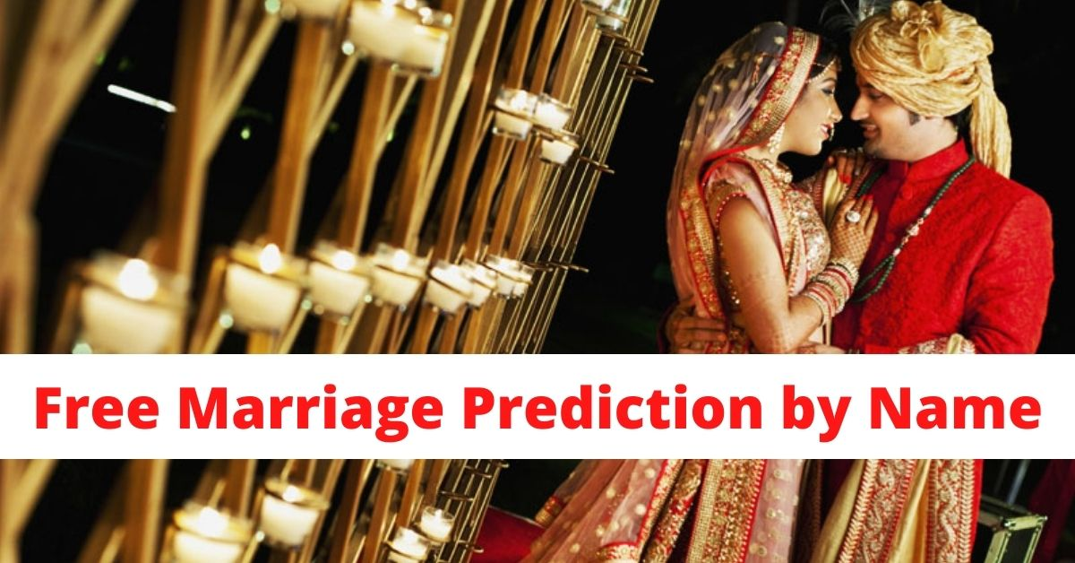 Free marriage prediction by name